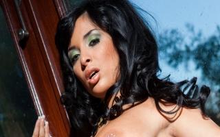 Deutschsprachige Pornofilme   - Buntes Sexvideo mit schwanzgeiler Lady